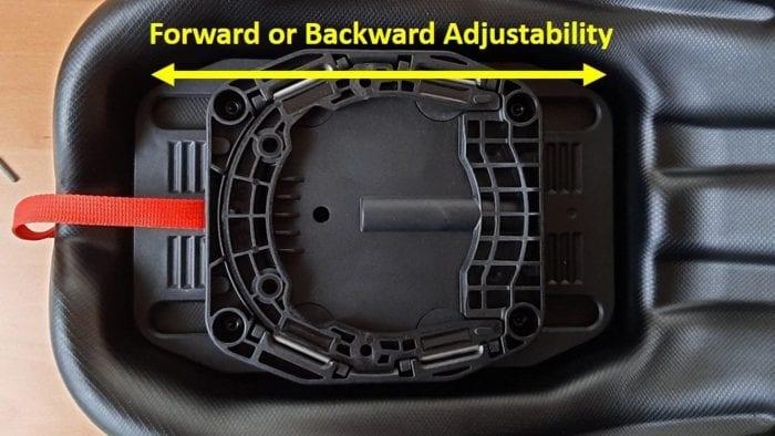 Pro GS tank bag adjustable slide