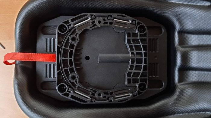 Under side of the SW Motech GS tank bag