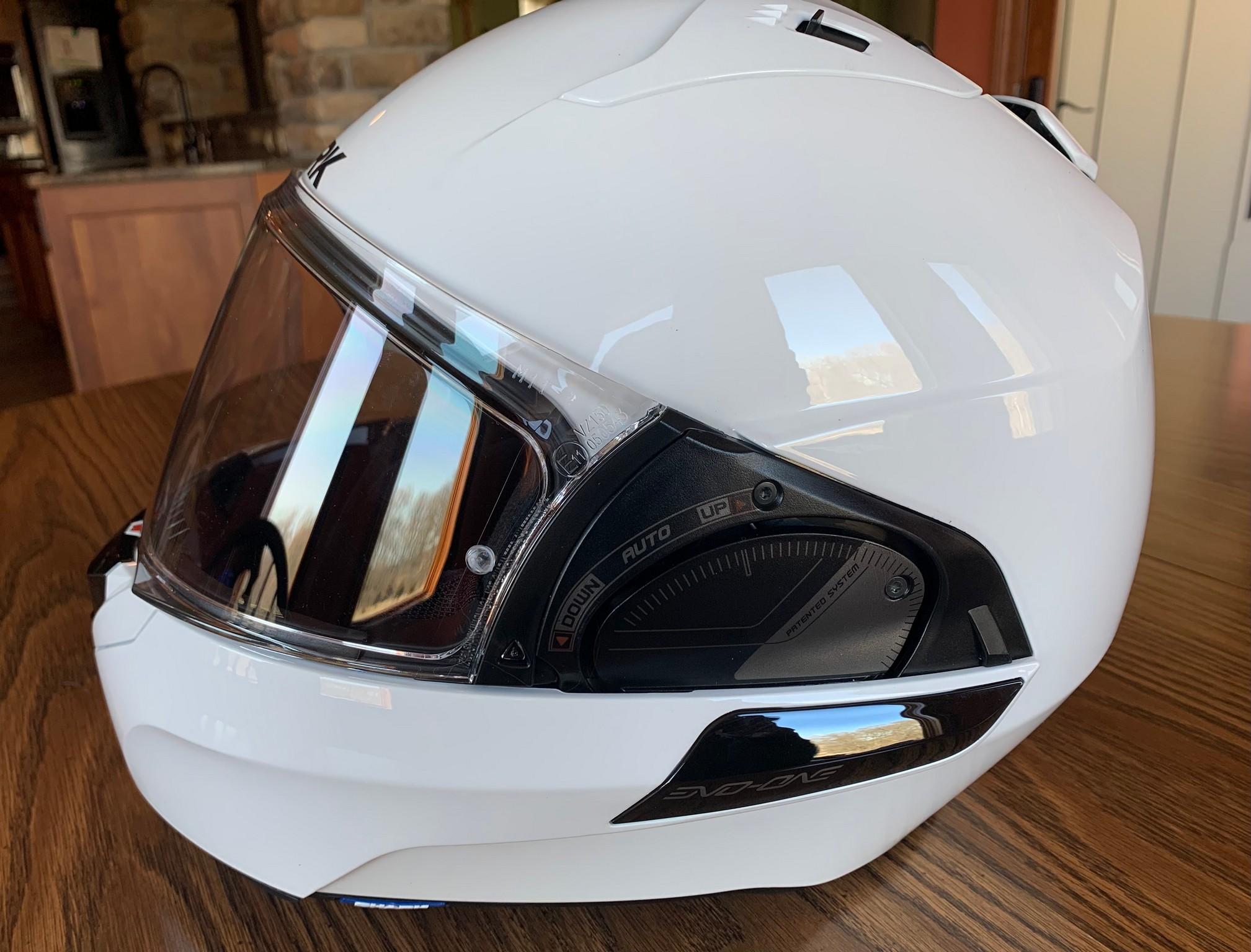 Side view of the Shark EVO One 2 helmet