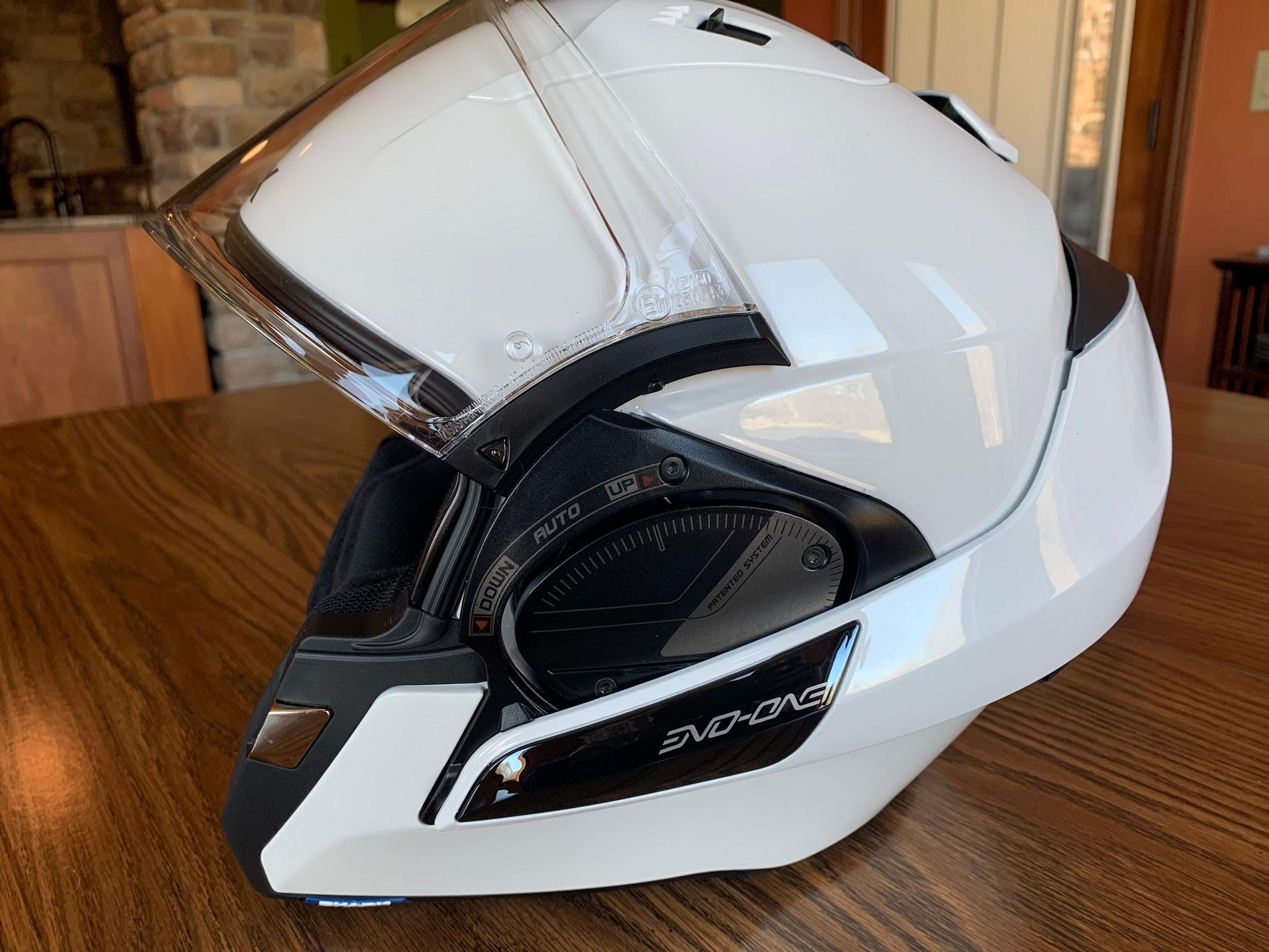 Side view of Shark EVO One 2 helmet