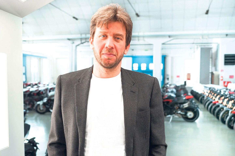 MV Agusta CEO Timur Sardarov