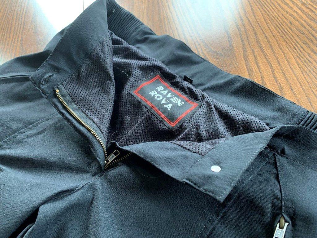 Full length mesh liner of Raven Rova Raven Pants