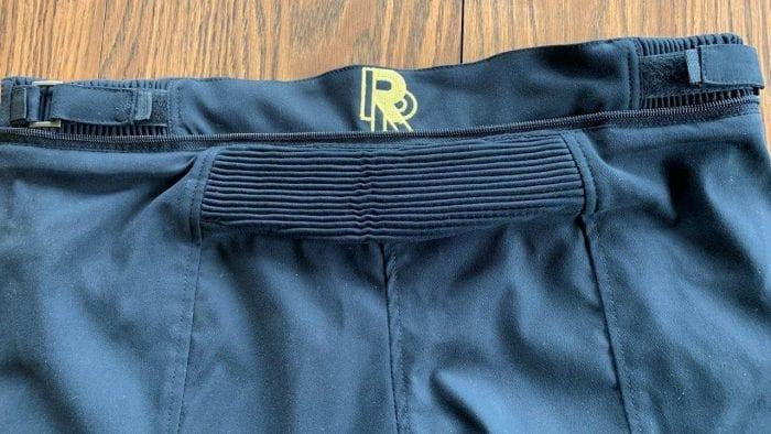 Rear Stretch Panel of Raven Rova Raven Pants