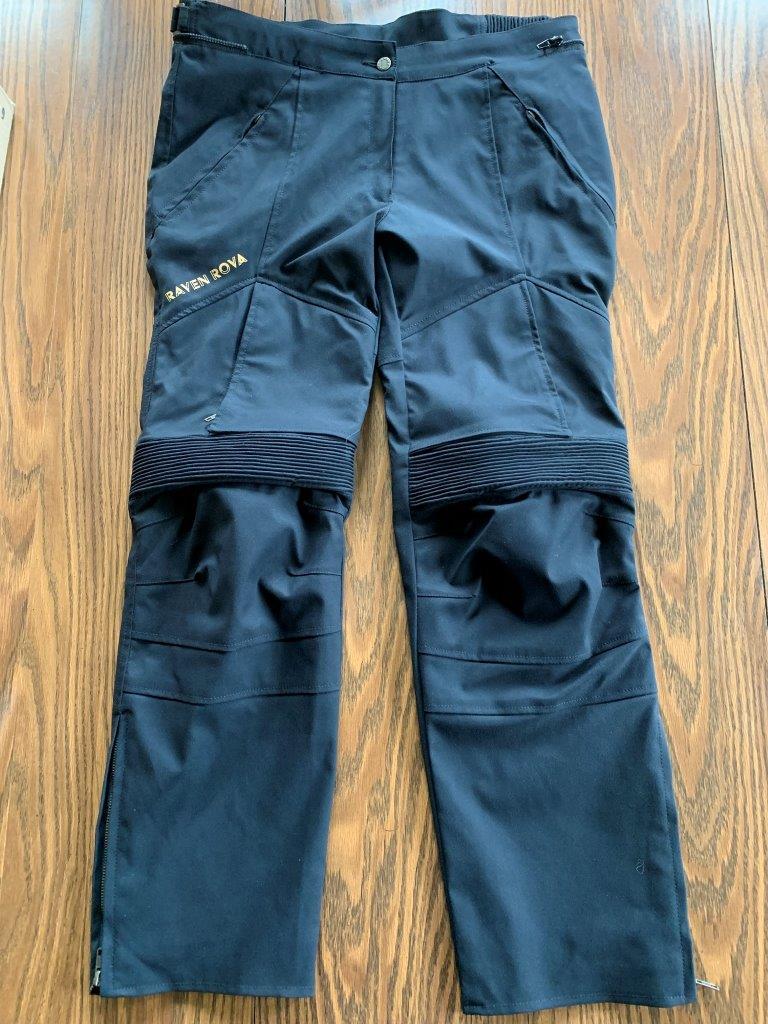 Raven Rova Pants Laid Out Flat