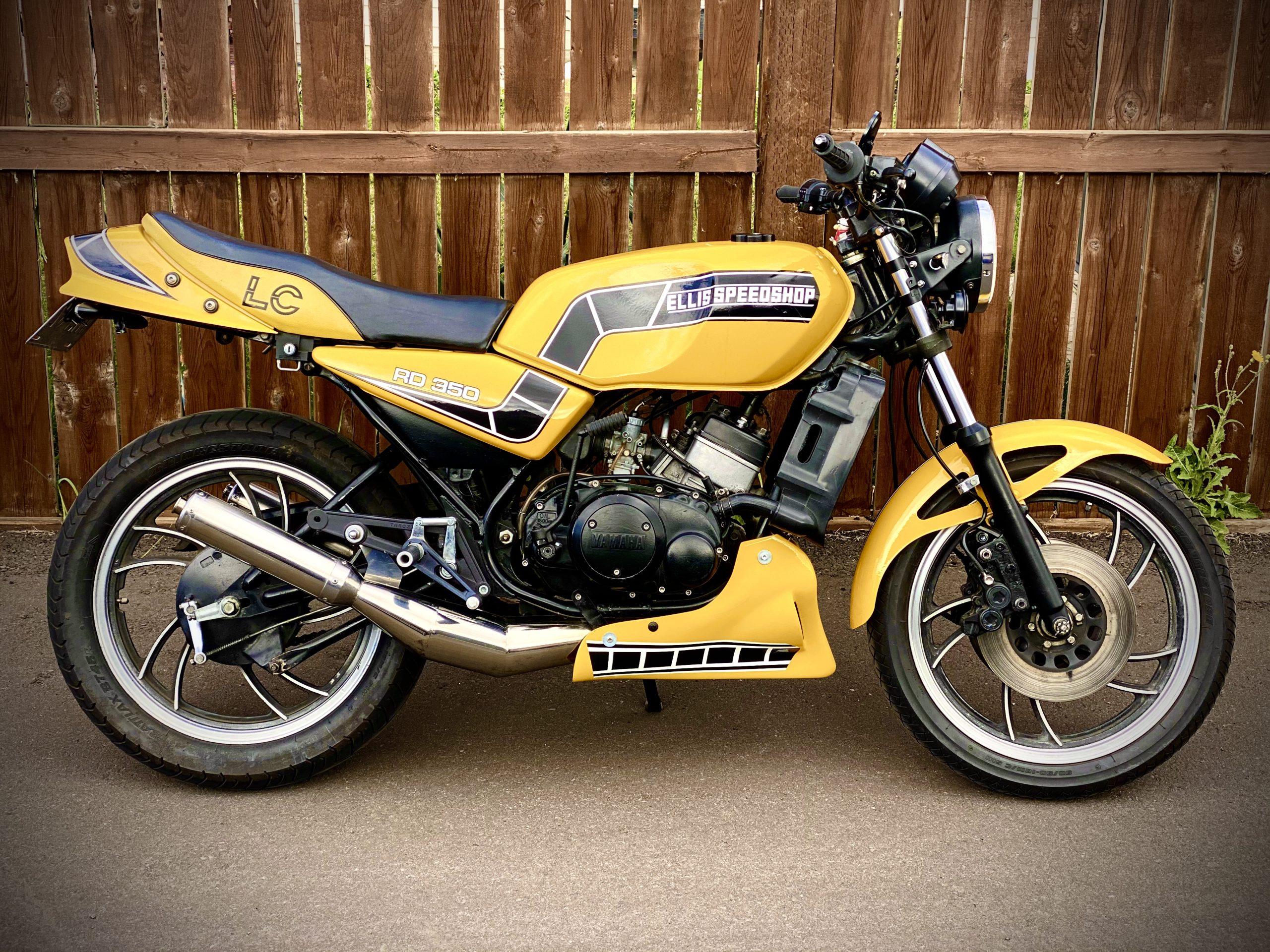 1982 Yamaha RD350LC