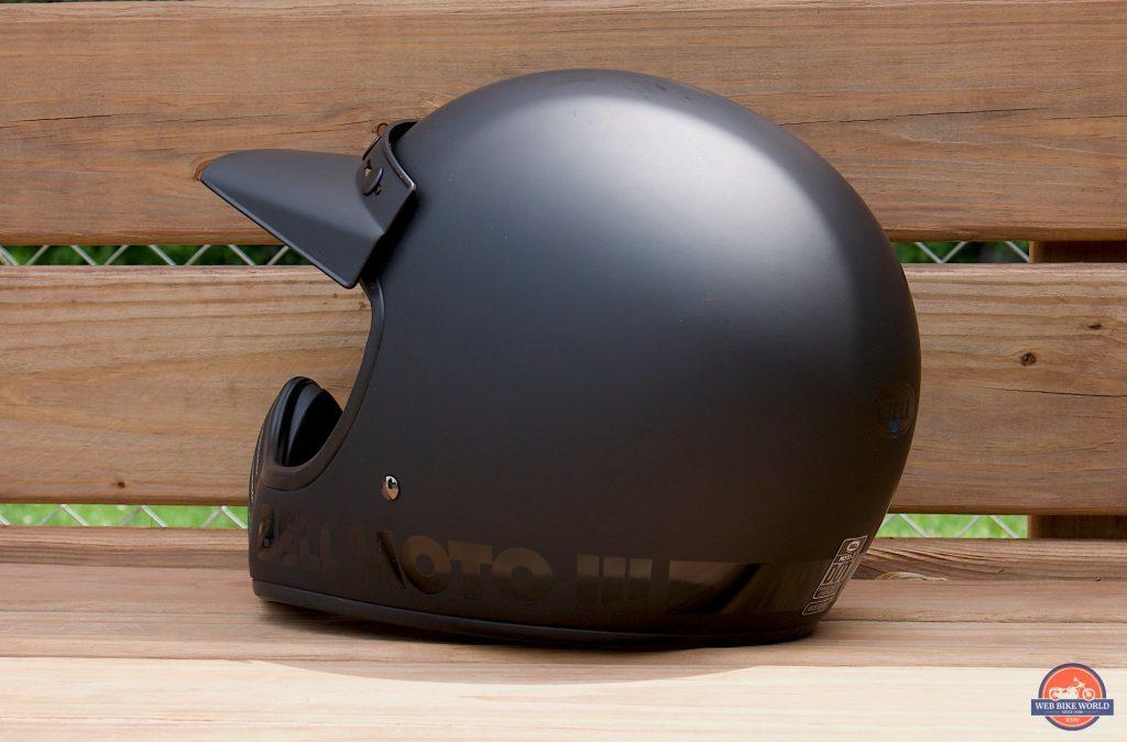 Bell Moto-3 Helmet rear three-quarter