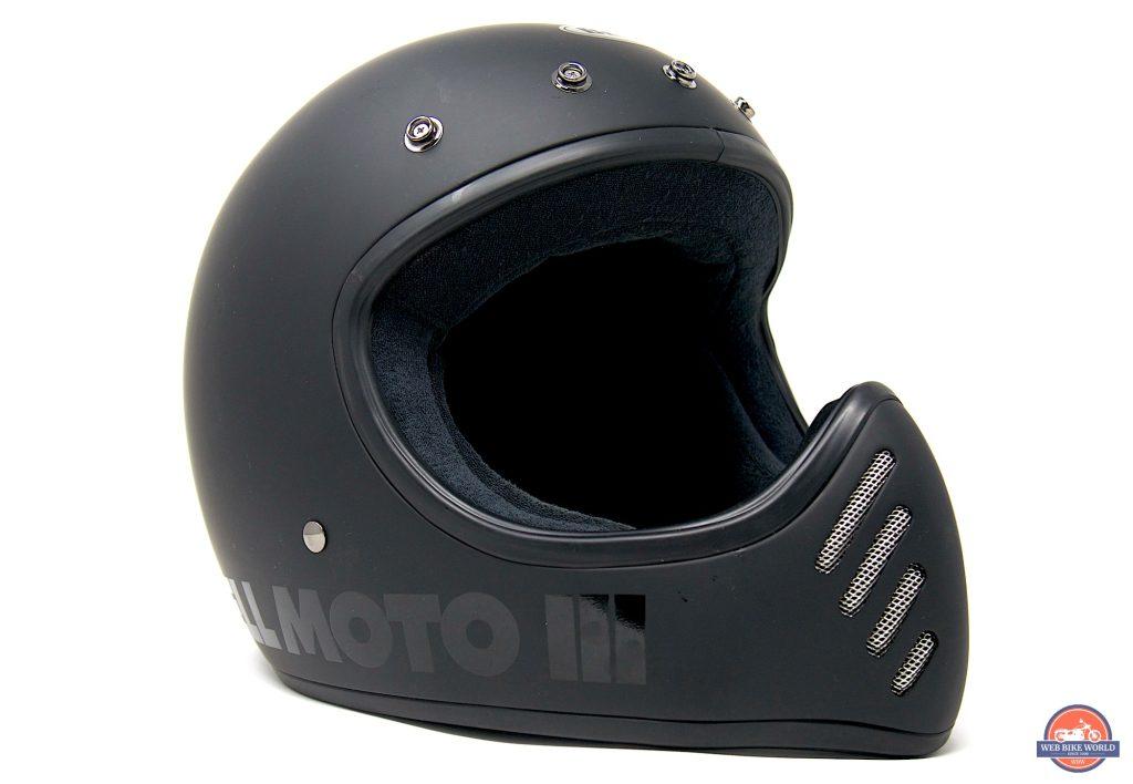 Bell Moto-3 Helmet front three-quarter