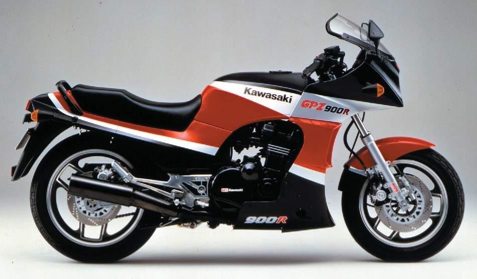Kawasaki GPZ900R Ninja Side View