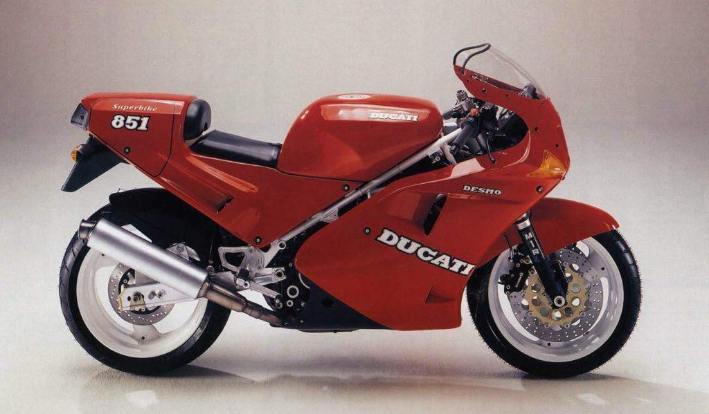 Ducati 851 Side View