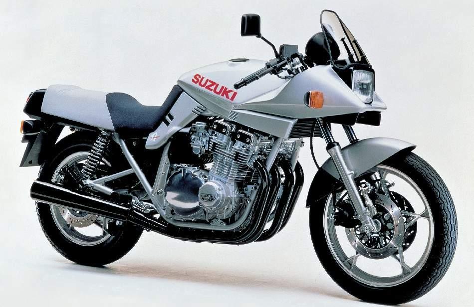 1981 Suzuki Katana GSX1100S Side View