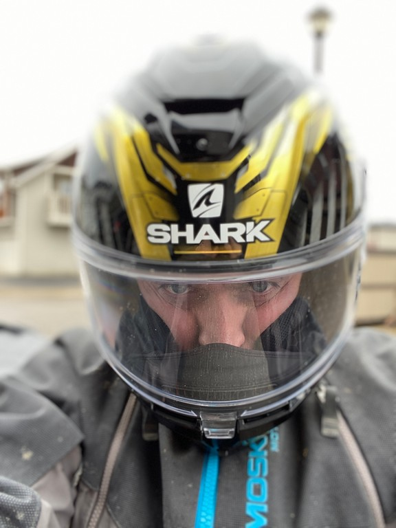 The Shark Spartan GT Replikan is a very tight fit on my head.