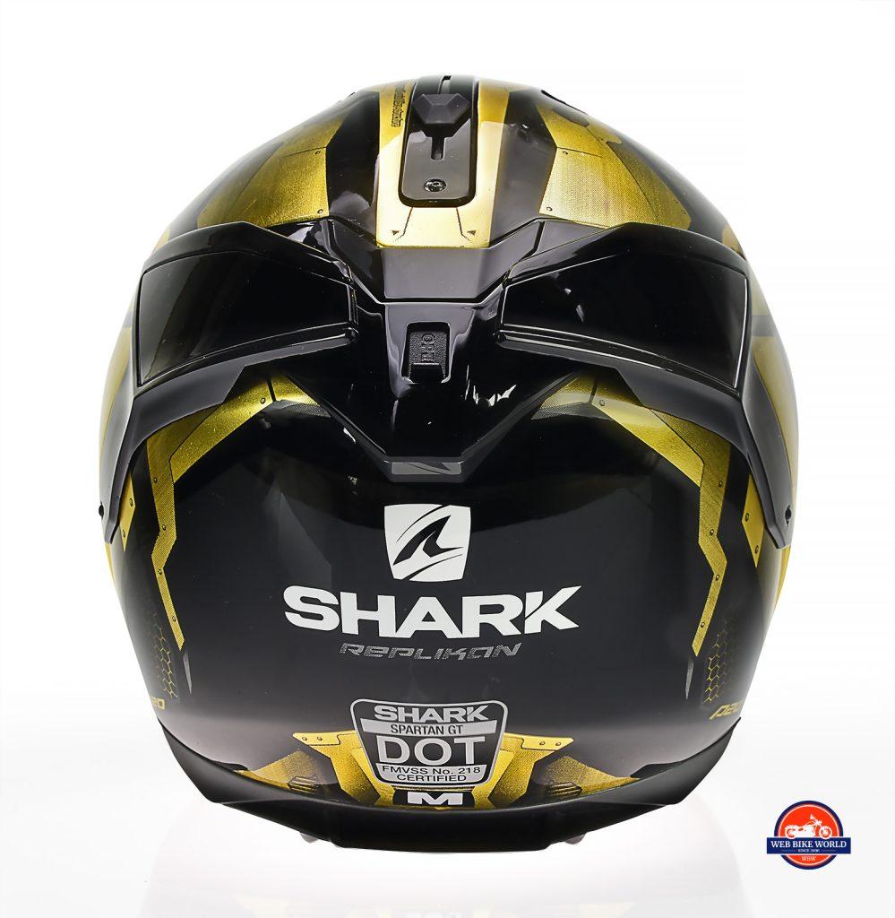 Rear view of the Shark Spartan GT Replikan.