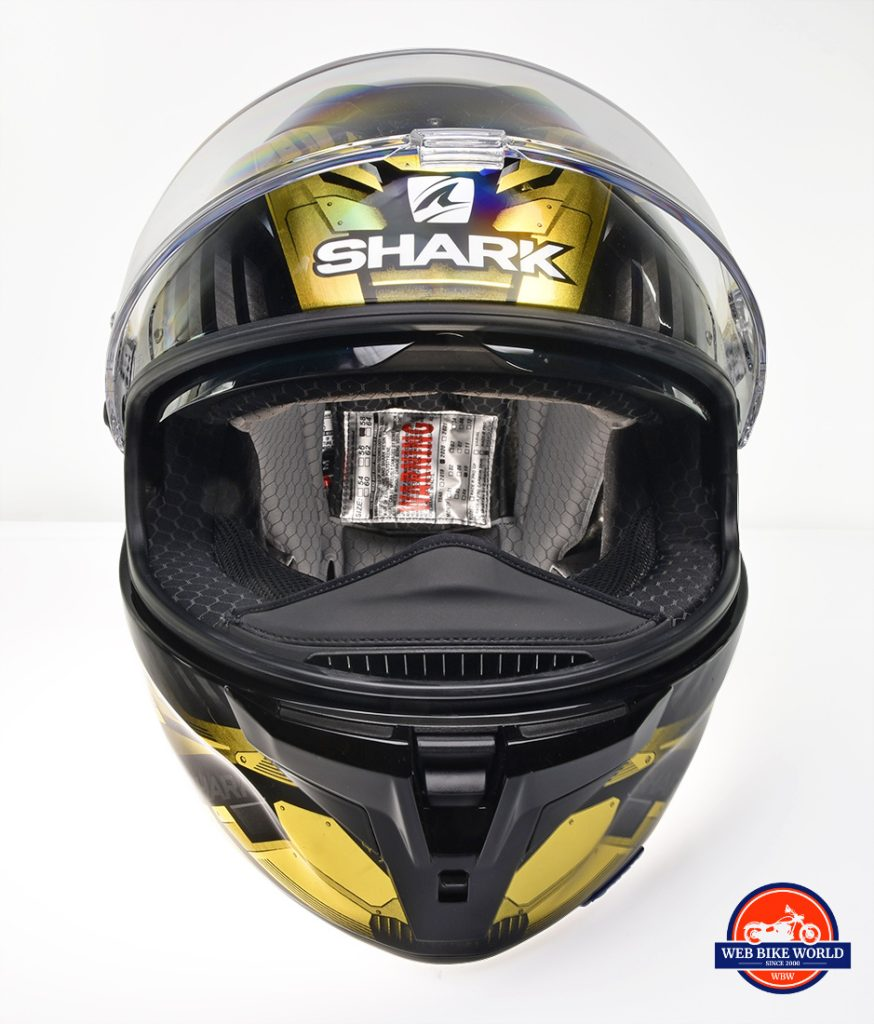 The Shark Spartan GT Replikan chin bar vent is different than the one on the Spartan.