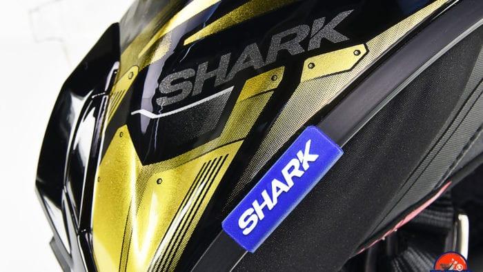 The Shark Spartan GT Replikan is pleasing to the eye.