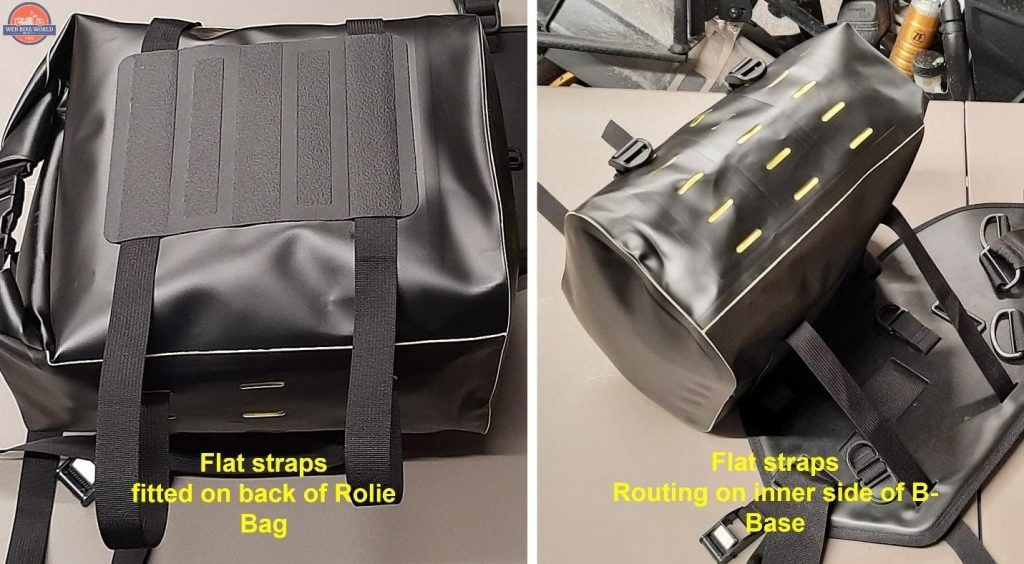 Wolfman Luggage B-Base Mounting Points