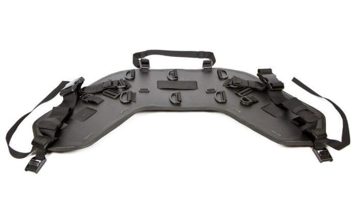 The Wolfman Luggage B-Base 'Unrack' System Laid Flat