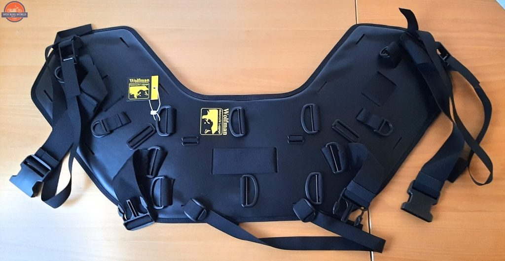 The Wolfman Luggage B-Base 'Unrack' System With Straps and Buckles