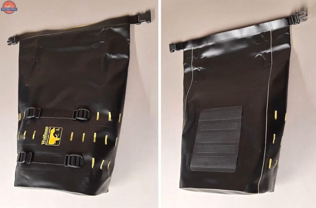Wolfman Luggage Rolie Bags