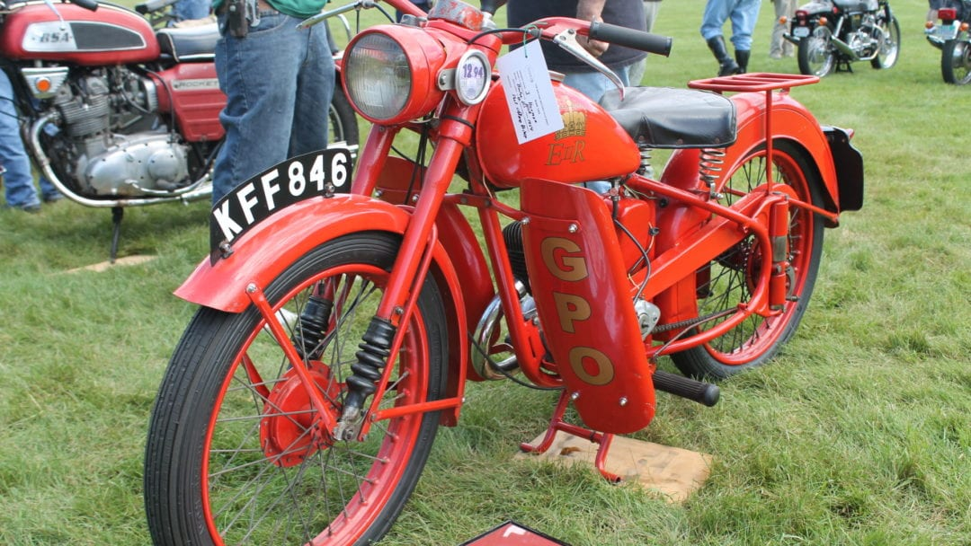 A BSA motorcycle for sale - D3, 1954.