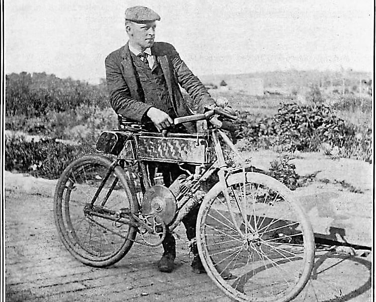 1903 California: The first motorized vehicle to travel coast to coast.