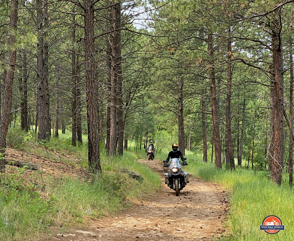 The Rapid City Loop trail was fun to ride during the 2021 GET ON! Adventure Festival.