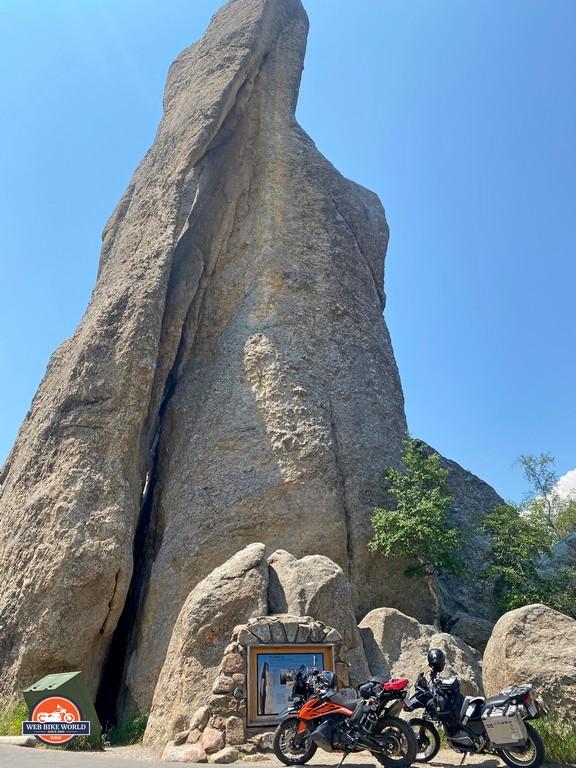 Interesting rock formations at Needles, South Dakota.