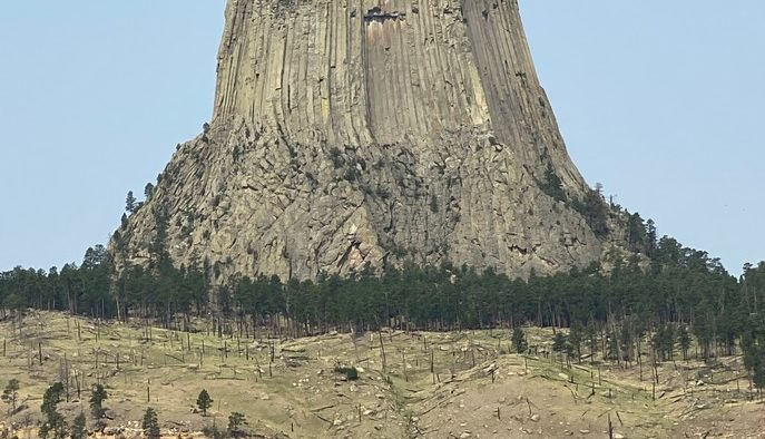The Devil's Tower.