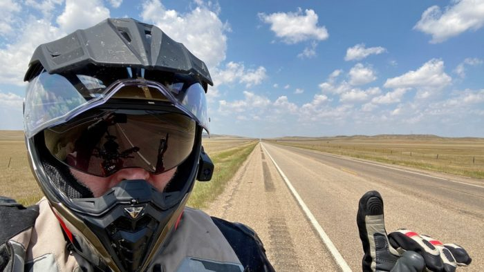 Wyoming and eastern Montana have some VERY long, straight highways.