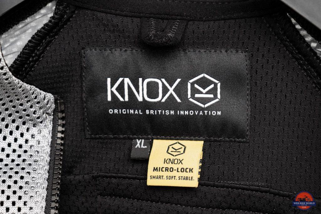 Knox Urbane Pro Mk II Armored Shirt Interior Label