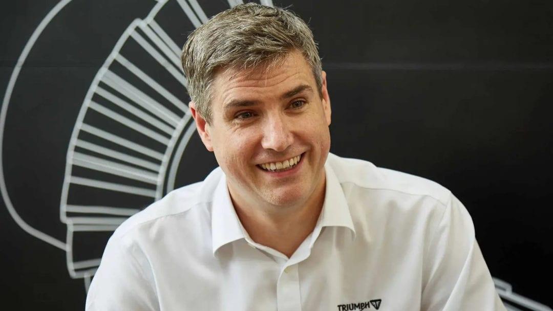 Nick Bloor, CEO of Triumph Motorcycles Ltd.