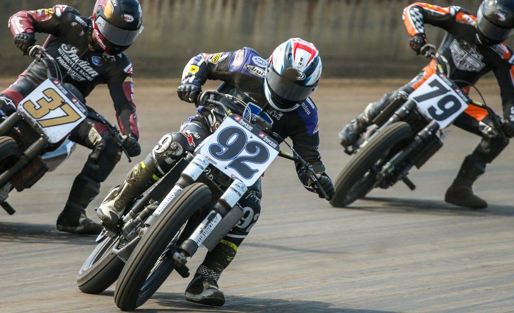 Brandon Prices, flanked by a fast-approaching Bauman and Mees