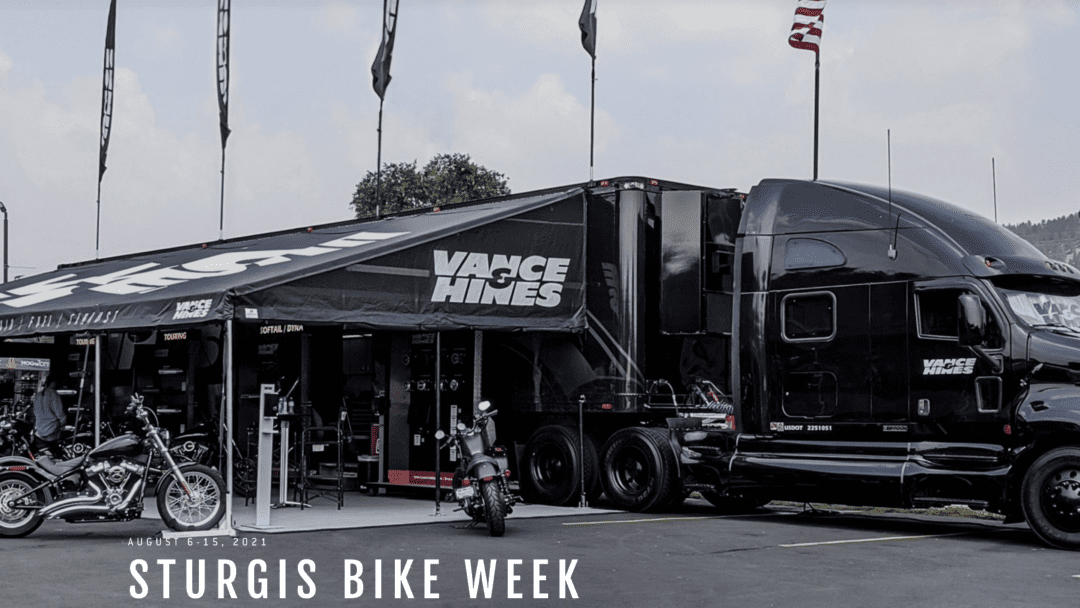 a view of the rig that will be present at the 2021 81st Sturgis Motorcycle Rally