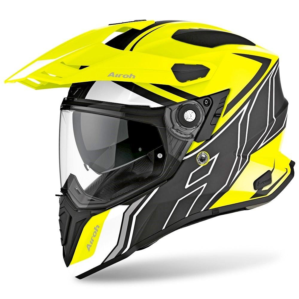 The Airoh Commander helmet.