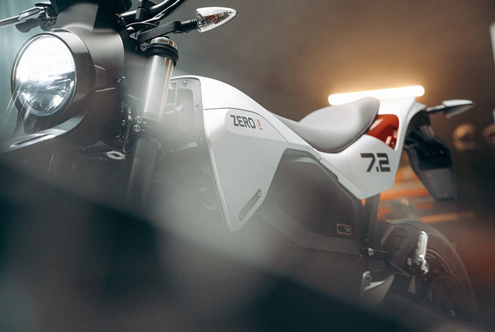 A vague close-up of the 2022 ZERO FXE. Credit: AutoEvolution