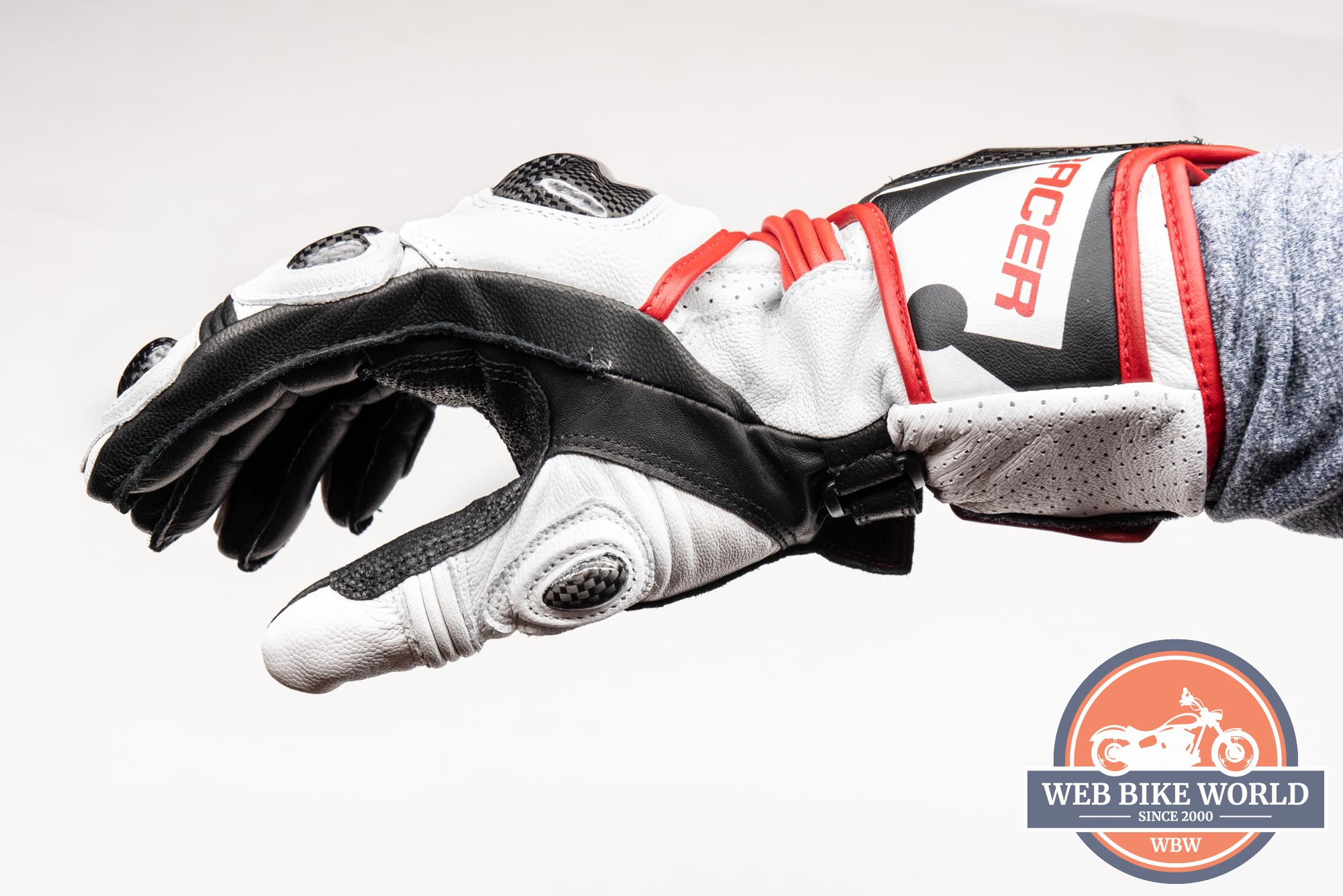 Left side view of the Hi Per glove