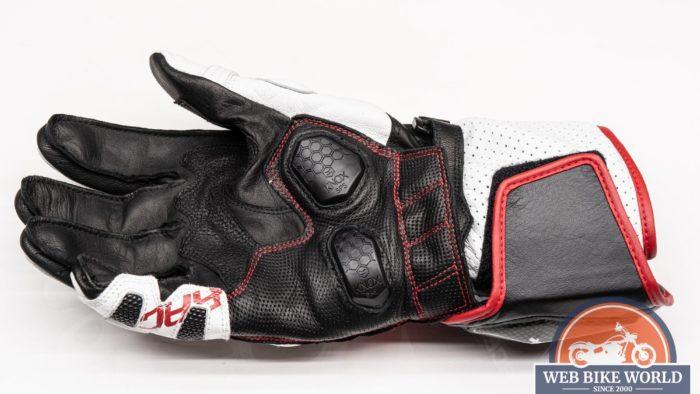 Underside view of the Hi Per glove