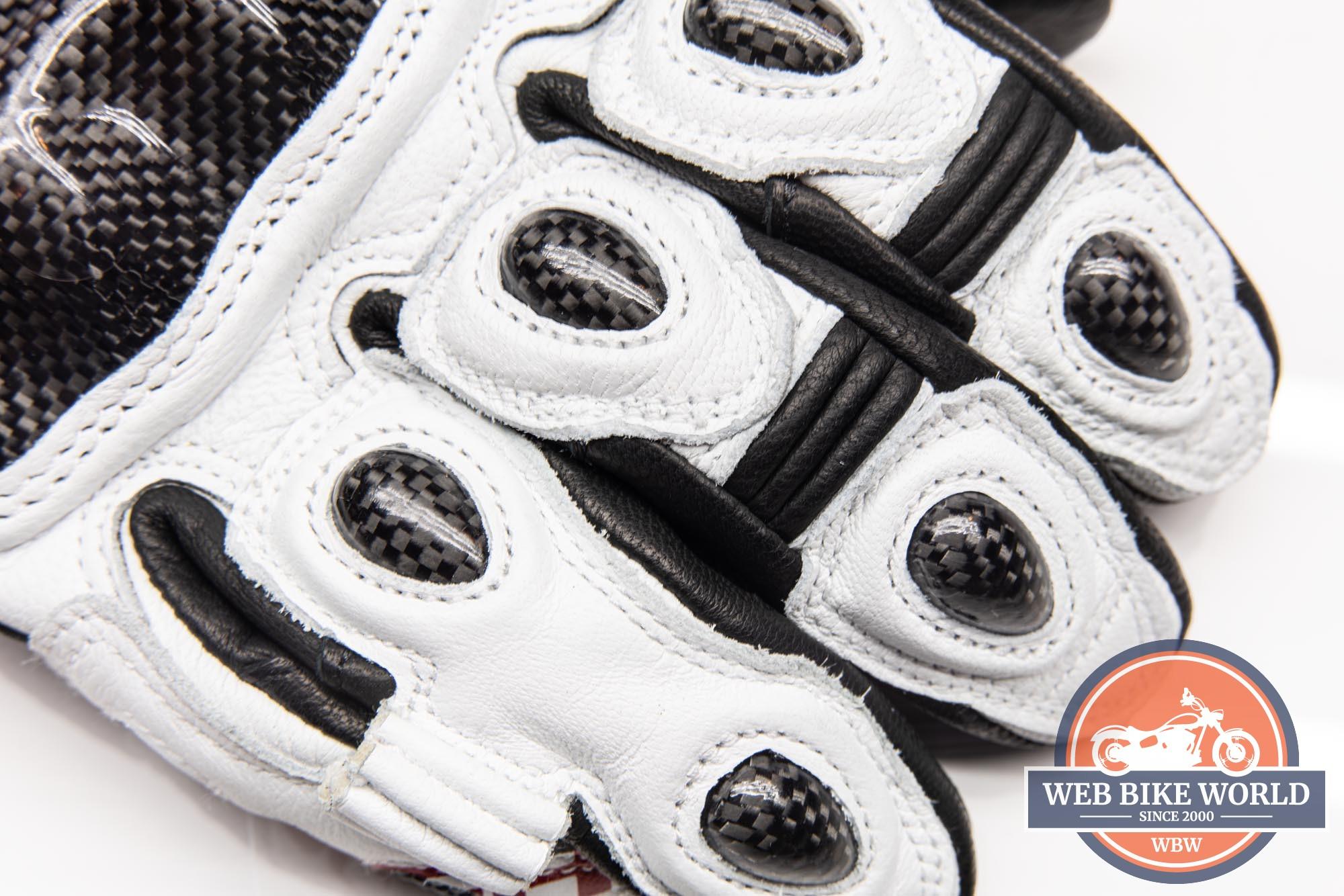 Knuckle carbon fiber protection