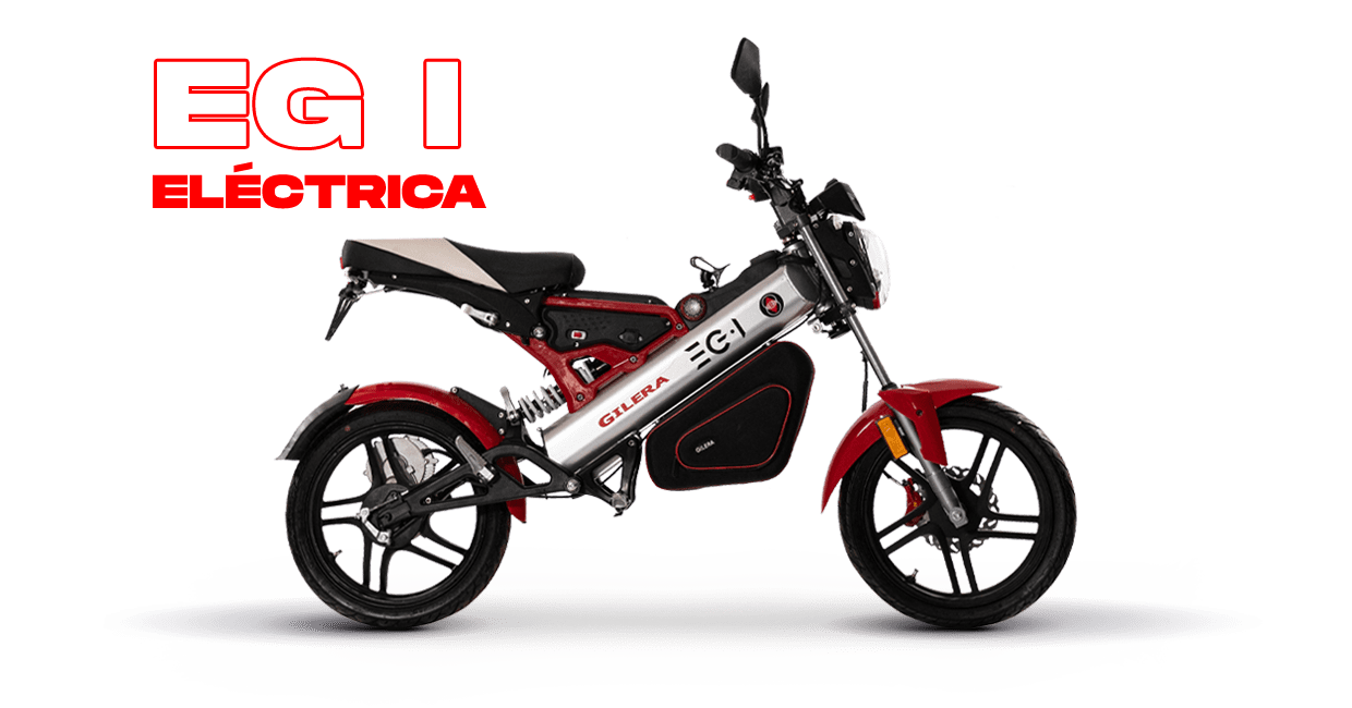 A side view of the EG 1 Electric from Gilera Motors