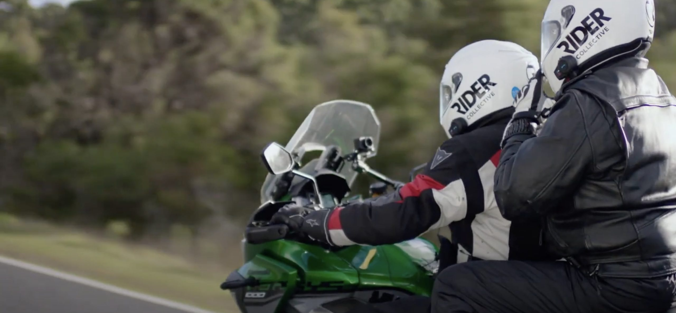 """Ben Felton, a blind motorcyclist connected to the new documentary labelled """"Dark Rider"""""""