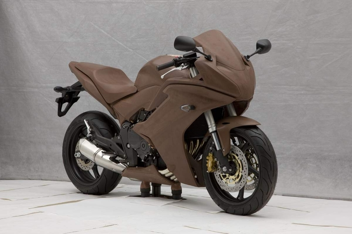 Honda Partners with WASP to Print 3D Clay Motorcycle Prototypes